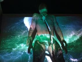 Emilio Cervelló interpretando COMO PEZ SIN EL AGUA para el Aula de Danza de la UCO en el Día Internacional de la Danza